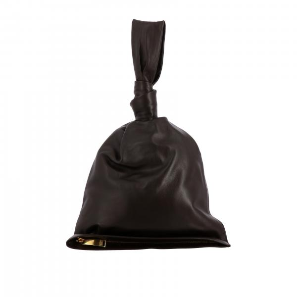 Pochette portée à la main BV Twist Bottega Veneta en vrai cuir