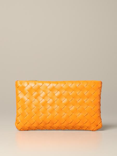 Bottega Veneta clutch bag in woven leather