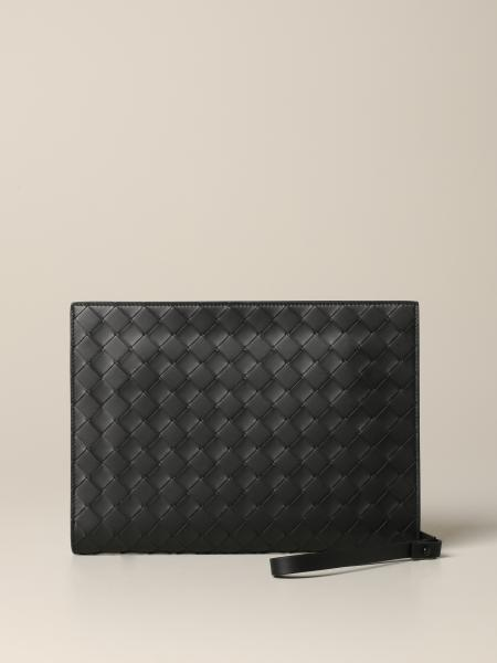 Bottega Veneta Kartenhalter aus gewebtem Leder