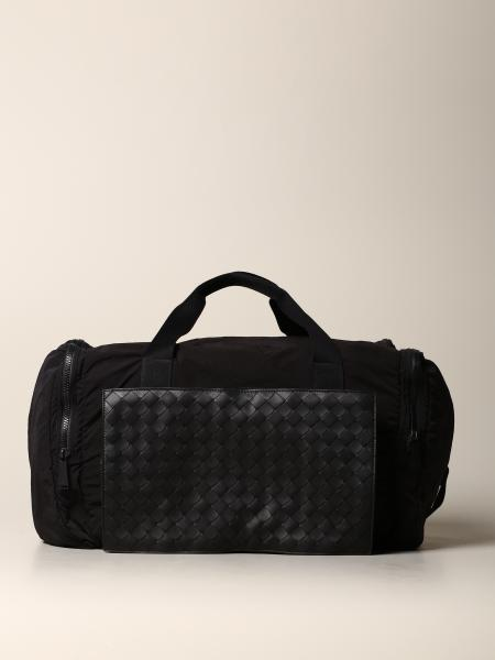 Bottega Veneta bag in woven leather and resealable nylon