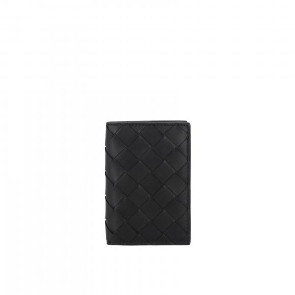 Bottega Veneta Geldbörse aus geflochtenem Leder