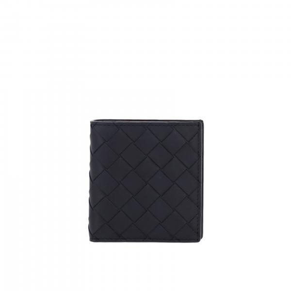Portafoglio portafoglio bottega veneta in pelle intrecciata Bottega Veneta - Giglio.com