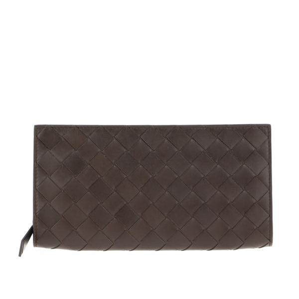 Bottega Veneta wallet in woven leather