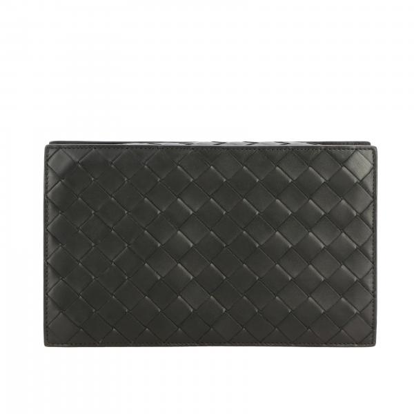 Beauty Case Bottega Veneta in pelle intrecciata
