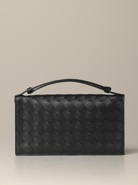 Bottega Veneta cardholder in woven leather