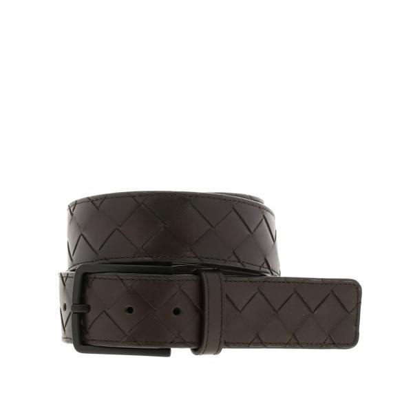 Bottega Veneta 真皮编织腰带皮带