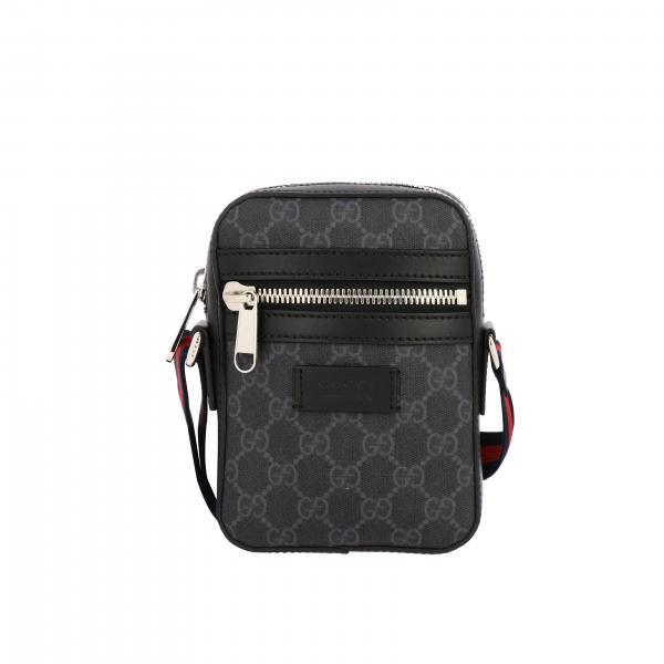 Gucci GG Supreme leather shoulder bag