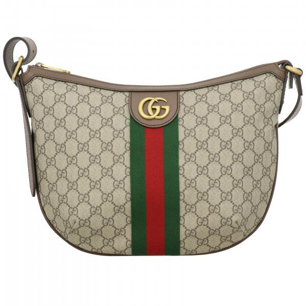 Gucci Ophidia hobo bag in GG Supreme print leather