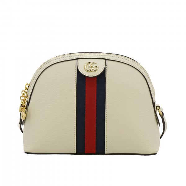 Gucci Ophidia Web织带真皮肩包