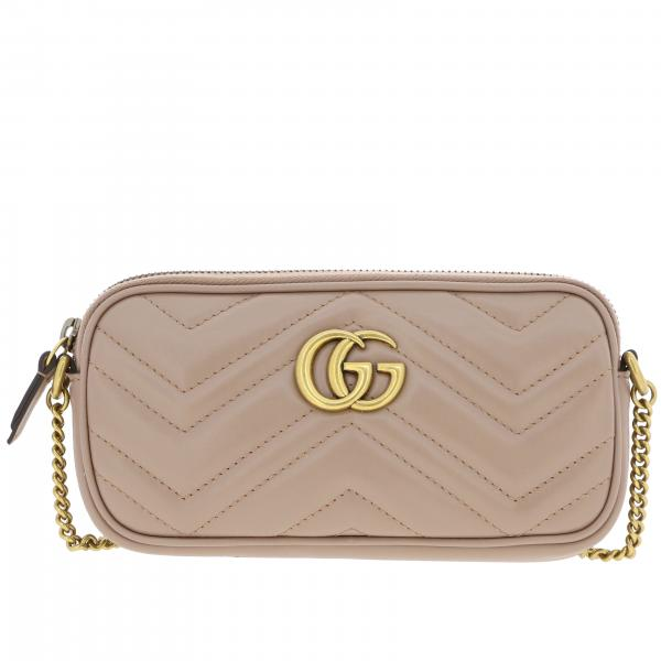Gucci GG Marmont bag in genuine chevron leather