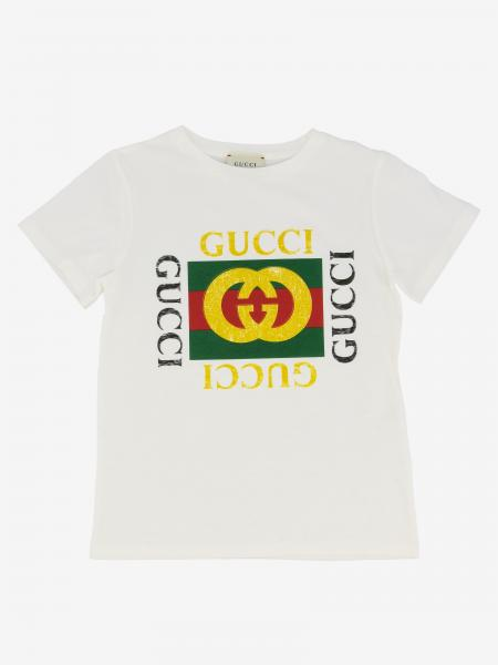 Gucci short-sleeved T-shirt with logo print
