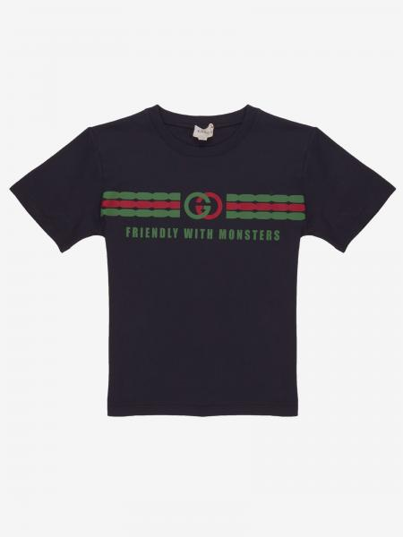 Gucci short-sleeved T-shirt with Gucci knot print