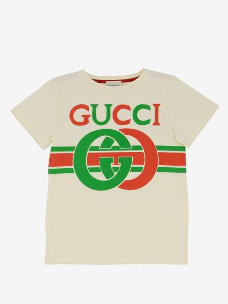 Gucci T-Shirt mit Gucci Knoten Print