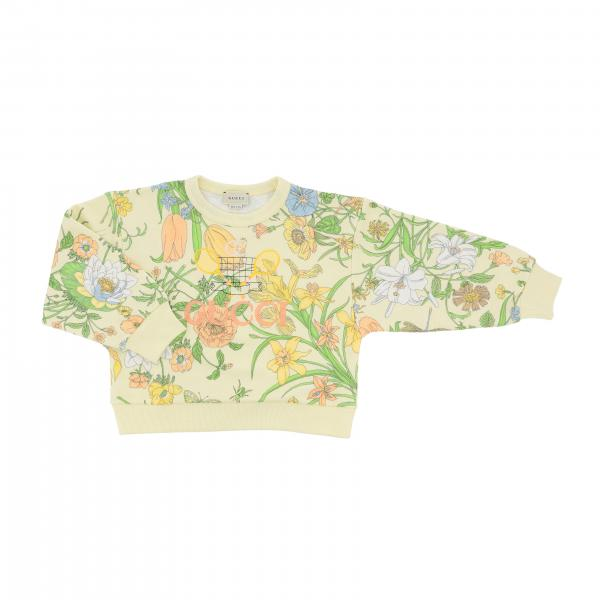 Gucci crewneck sweater with floral print