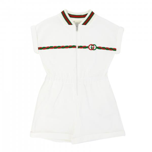 Gucci bodysuit in technical jersey with GG logo