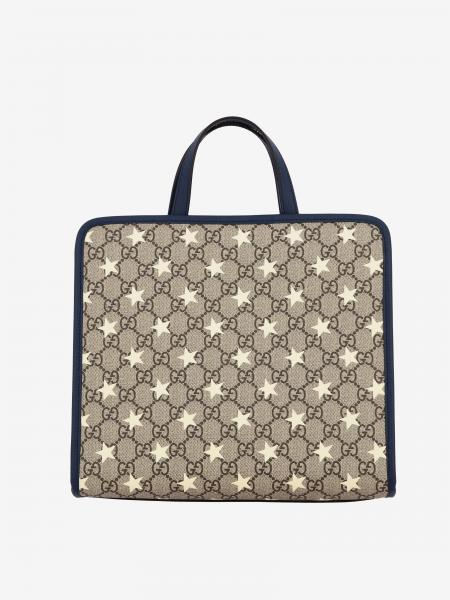 Gucci GG Supreme shopping bag with all-over stars