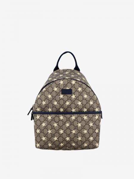 Gucci backpack with GG Supreme print and stars