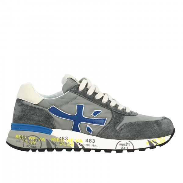 Mick Premiata sneakers in suede and nylon with logo
