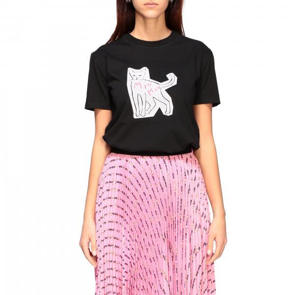 T-shirt women Miu Miu