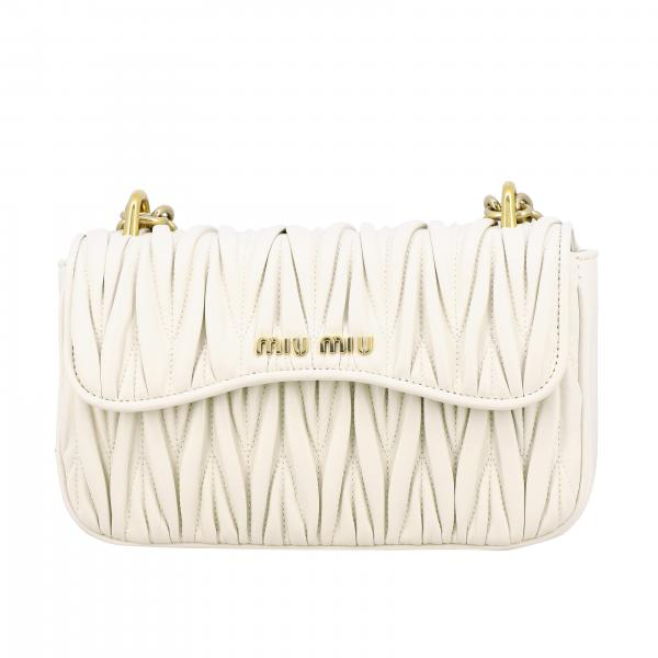 Miu Miu shoulder bag in quilted leather