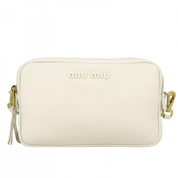 Miu Miu brick bag in Madras leather