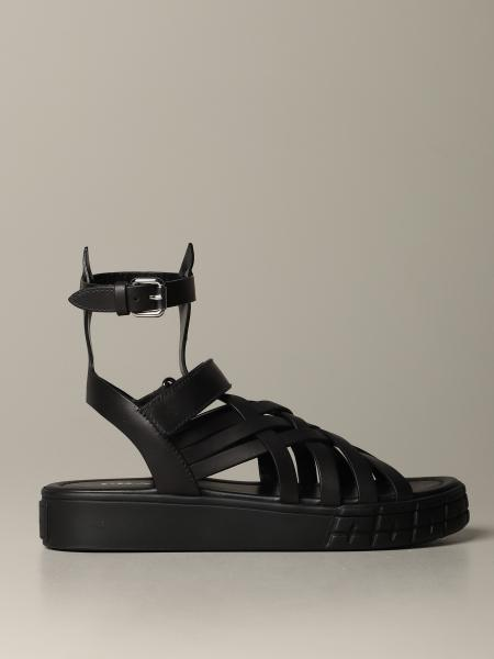 Prada sandal in calf leather
