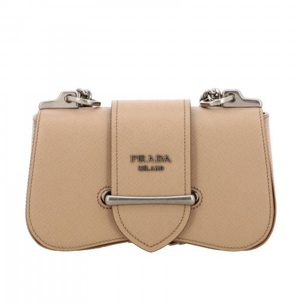 Sidonie Prada Tasche aus Saffiano Leder