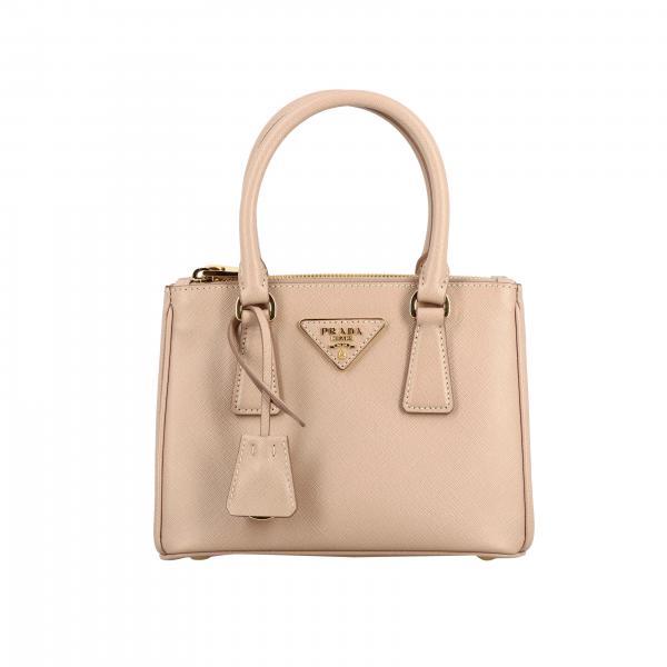 Galleria Prada Tasche aus Saffiano Leder mit Logo