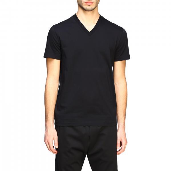 Set 3 t-shirt Prada basic con scollo a v