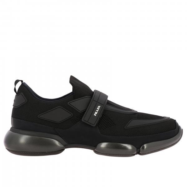 Cloudbust Prada Sneakers aus Mesh und Gummi