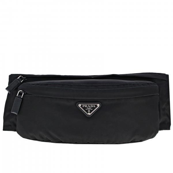 Поясная сумка из нейлона с логотипом  Мужское Prada