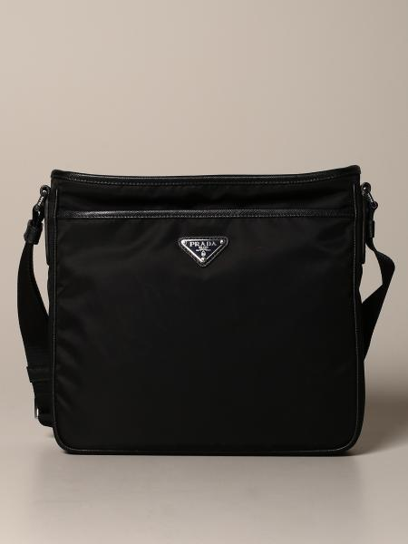 Prada nylon bag with logo