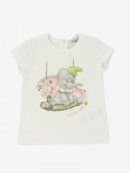 T-shirt Monnalisa Bebé con Dumbo