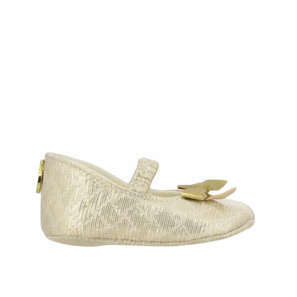 Monnalisa Chic Bebè ballet flat in satin with bow