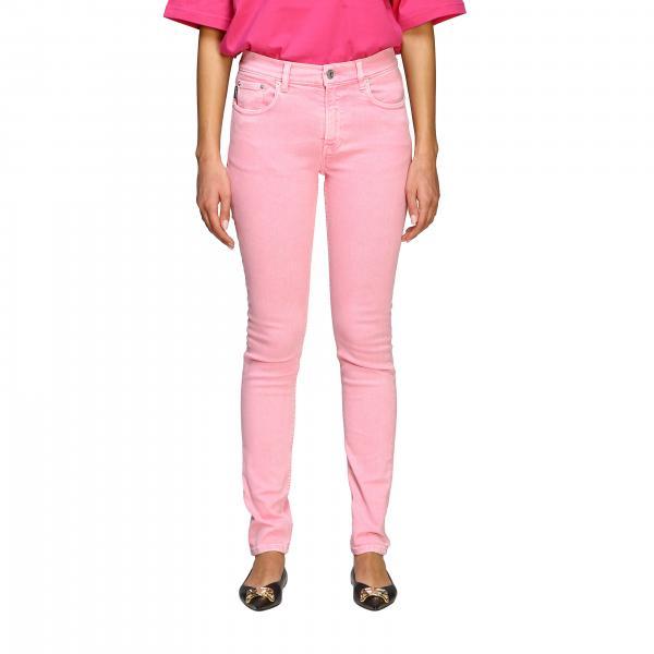 Jeans Balenciaga en denim délavé