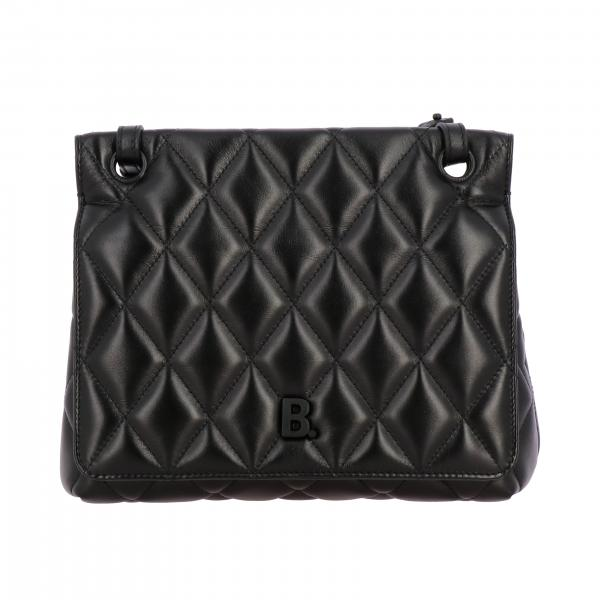 Balenciaga B shoulder Quilted 纳帕革绗缝手袋