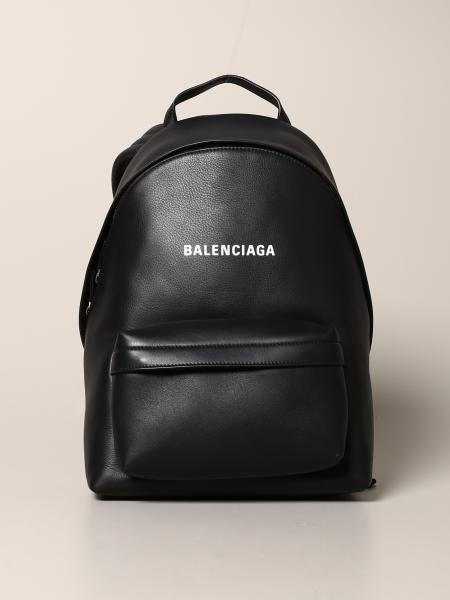 Zaino Everyday Balenciaga in pelle con logo