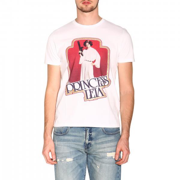 Etro X Star Wars T-shirt with maxi Princess Leia print
