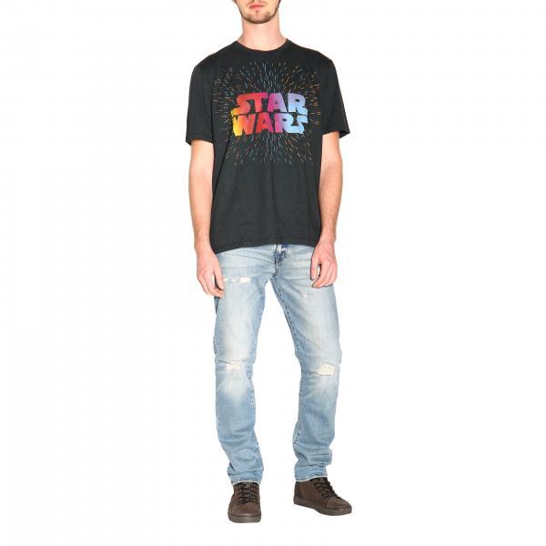 shirt 1y820 Maxi Star Uomo Con Wars Stampa Etro NeroX Cinematografica T 9051 QdWBreCxEo
