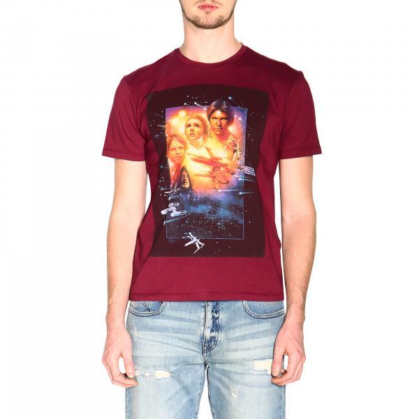 Etro X Star Wars t-shirt with maxi film print