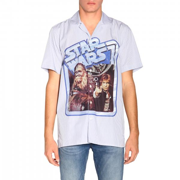 Etro X Star Wars bowling shirt with short sleeves