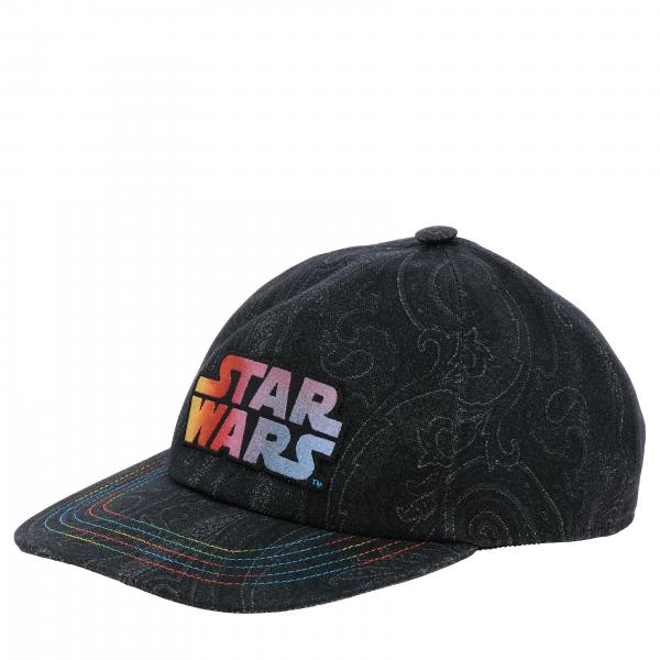 Etro X Star Wars baseball cap in cotton with Paisley print