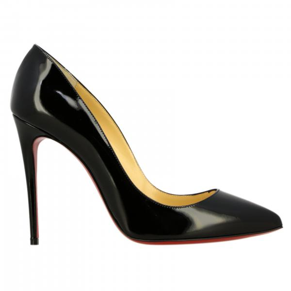 Christian Louboutin Pigalle follies 漆皮浅口高跟鞋
