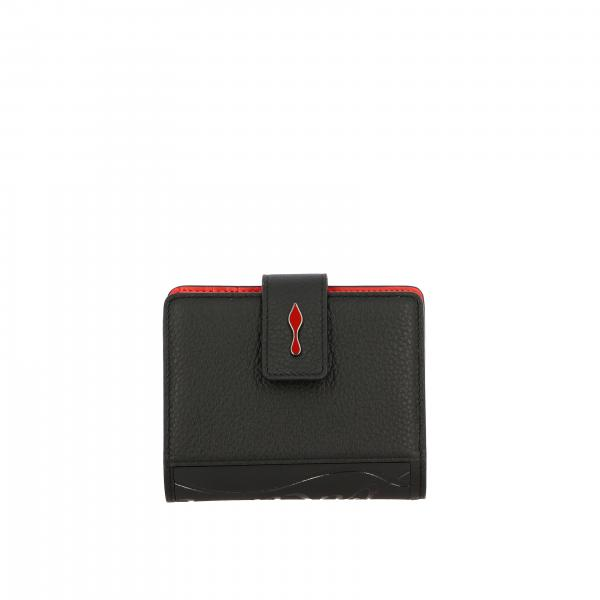 Paloma Christian Louboutin wallet in leather with logo