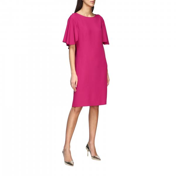 Alberta Ferretti cady dress with cape sleeves