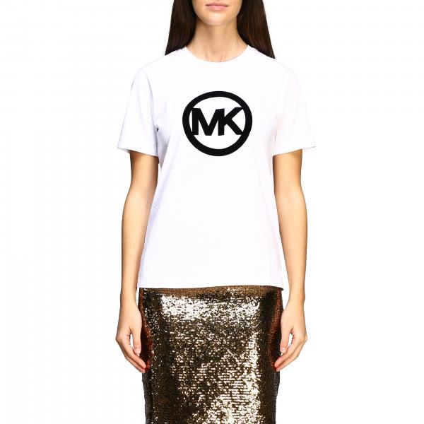 Michael Michael Kors t-shirt with flock monogram