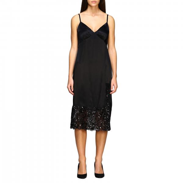 Michael Michael Kors 蕾丝和亮片装饰连衣裙