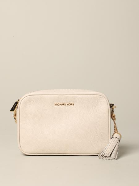 Michael Michael Kors Jet Set camera bag 金属感真皮手袋