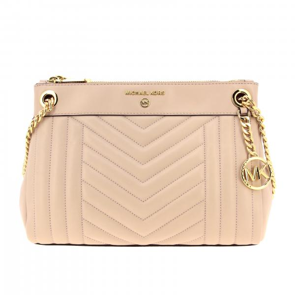 Susan Michael Michael Kors shoulder bag in chevron leather