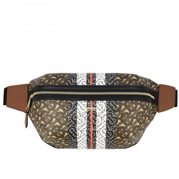 Sonny Burberry leather belt bag with exclusive monogram print